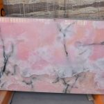 nyx stone or Persian Marble: onyx is a commercial term and is almost exclusively for Iran.