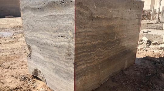 Silver travertine stone has high resistance in terms of material and color. Also, the color variety of Silver travertine varies from white to silver